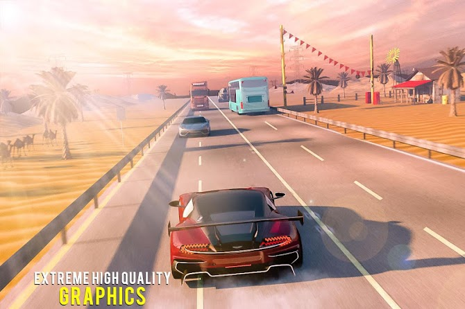 ?️ Traffic Car Highway Rush Racing Android 17