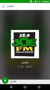 JoeFM- screenshot thumbnail