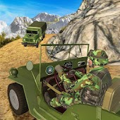 Drive Army Check Post Truck: Military Driver Games