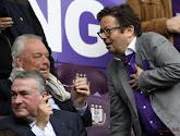 Le président d'Anderlecht Marc Coucke réplique aux propos tenus par Roger Vanden Stock
