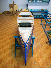 Photo: structurally, the boat is rather solid, but in details, there's quite some minor defects, which affects the final finish and look :-(