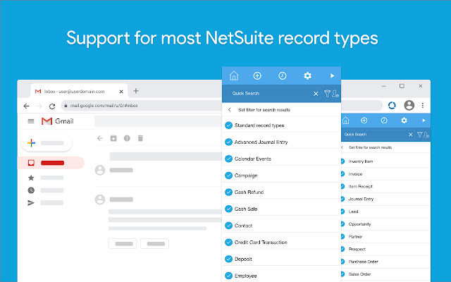 CloudExtend Gmail for NetSuite