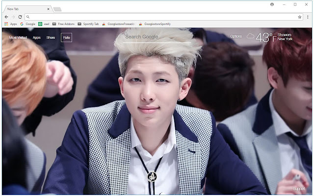 BTS Rap Monster Wallpaper Bangtan Boys Themes