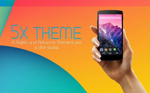 Launcher for Nexus 5x
