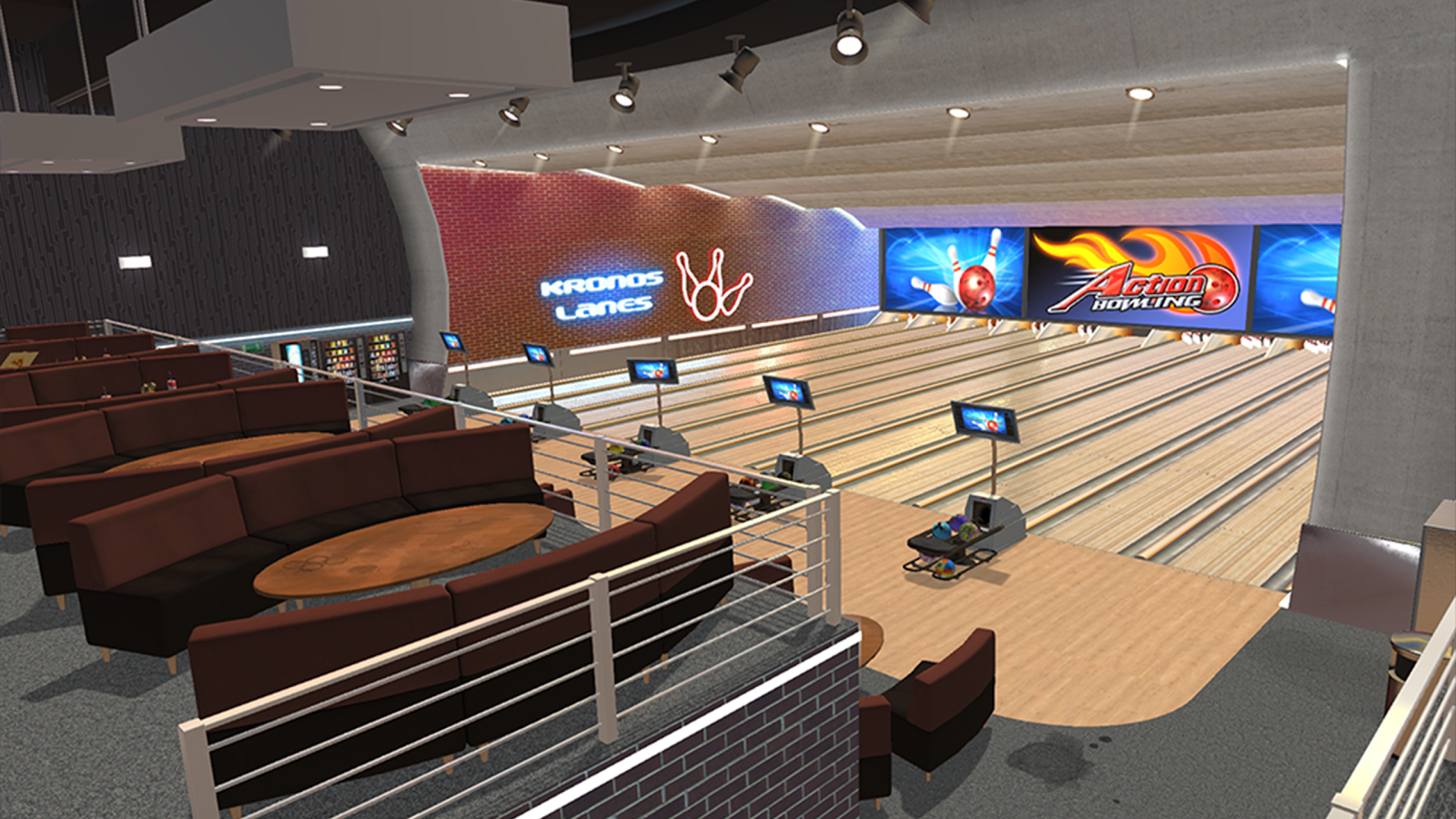 Action Bowling- screenshot