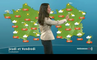 Screenshot of Weather for France