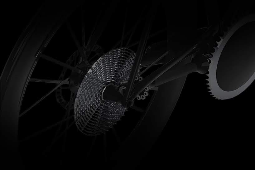 CeramicSpeed presenta el concepto de bicicleta sin cadena en Eurobike