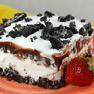 Oreo Cookie Dessert.