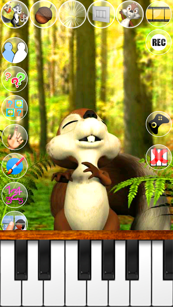 Talking James Squirrel screenshot 1