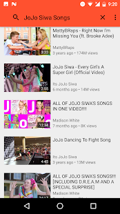 All Songs Jojo Siwa Screenshot