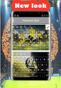 New keyboard for Borussia Dortmund - náhled