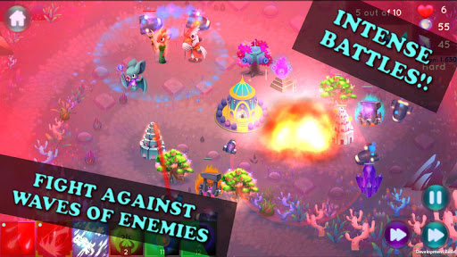 World of Loa TD: Fairy Kingdom Tower Defense  captures d'u00e9cran 1