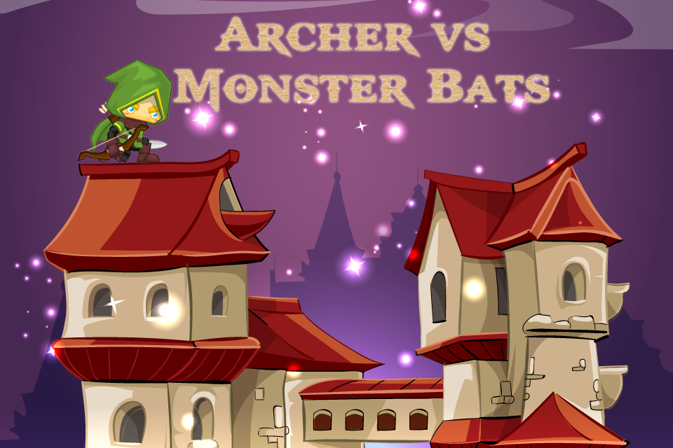 Archer vs Monster Bats- screenshot