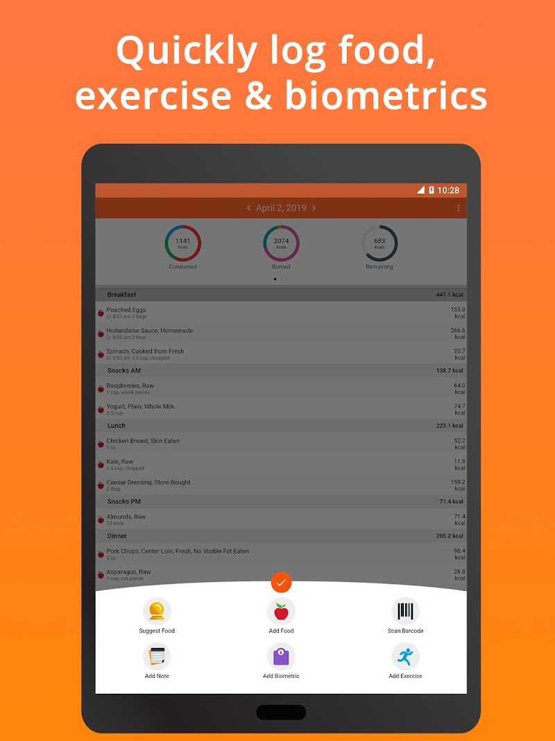 Cronometer – Nutrition Tracker (ad free) Screenshot 12