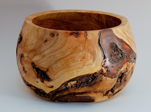 "Photo: Denis Zegar - Bowl - 4 1/2"" x 6 1/2"" - apple burl"