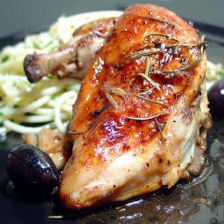 Italian Roasted Chicken (Rosemary Lemon)