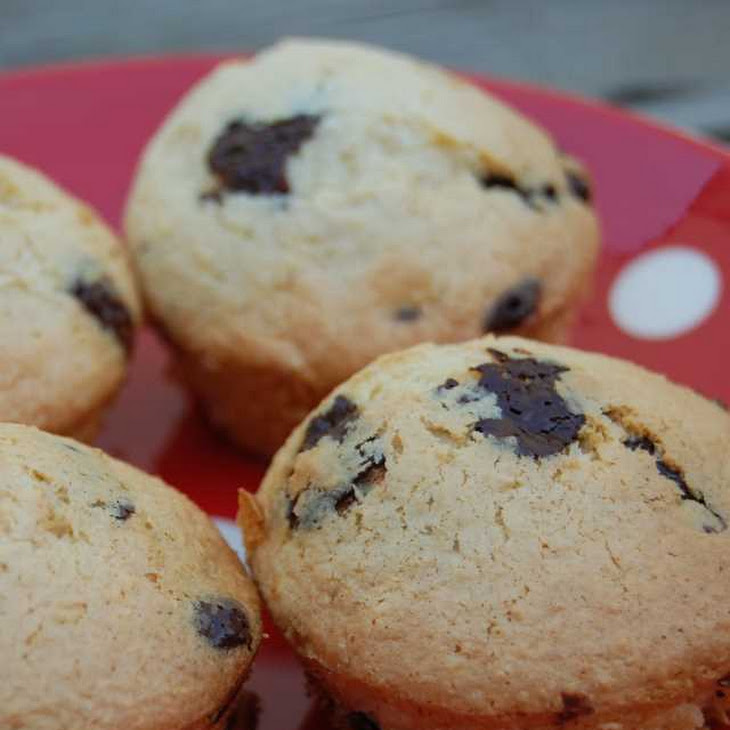 Coconut and Chocolate Chip Muffins Recipe