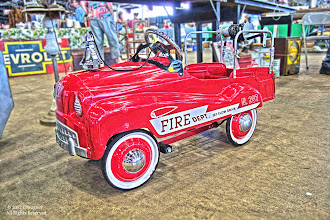 Photo: I had one of these when I was very little.  It may explain my fascination with fire trucks!