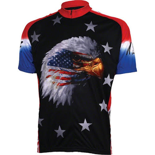 World Jerseys Amercian Eagle Cycling Jersey