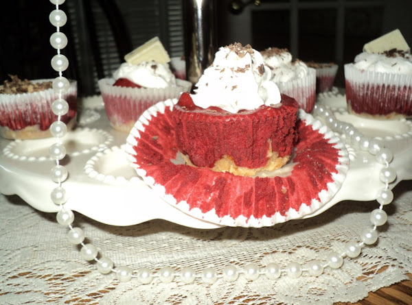 Mini Red Velvet Cheesecakes Recipe