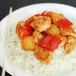 Low Carb Sweet and Sour Chicken