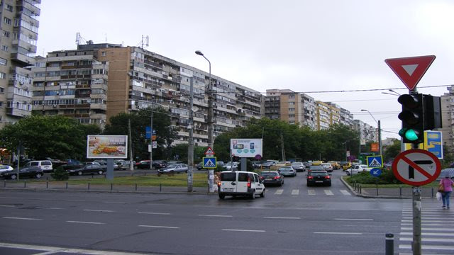 Bucharest weather in August cloudy day