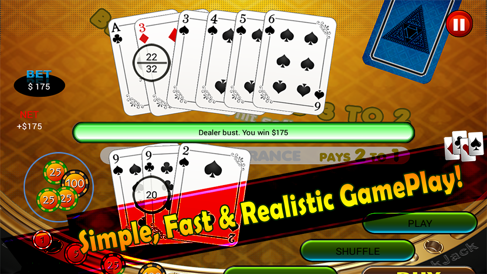 play free card game 21