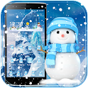 Snowman Theme Ice Frozen icon