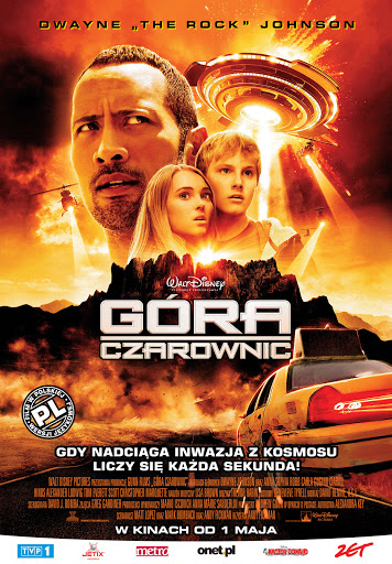 Polski plakat filmu 'Góra Czarownic'
