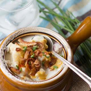 Loaded Vegan Potato Soup