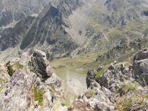 Photo: vue sur la vallée de la Ribérole depuis les Llosers. l'Estagnol et Puig Anyella