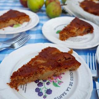 Easy Apple Pudding With Porridge Oats.