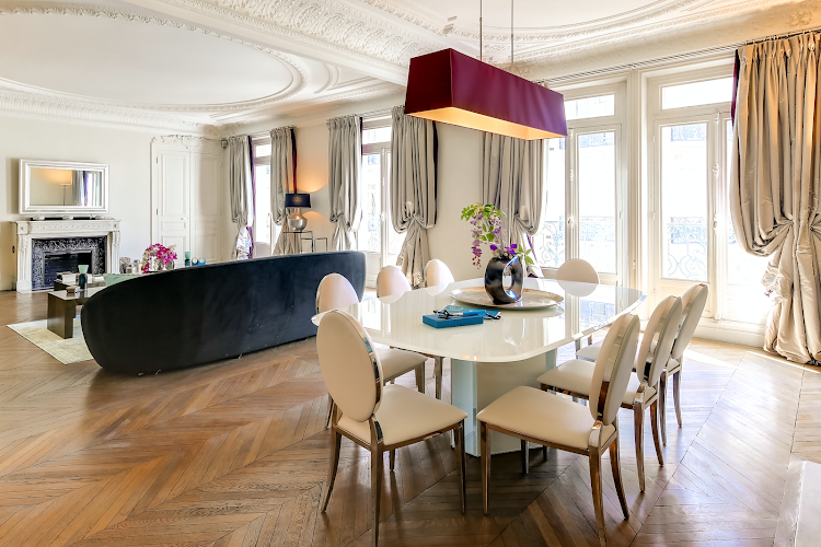 Dining space at Montaigne