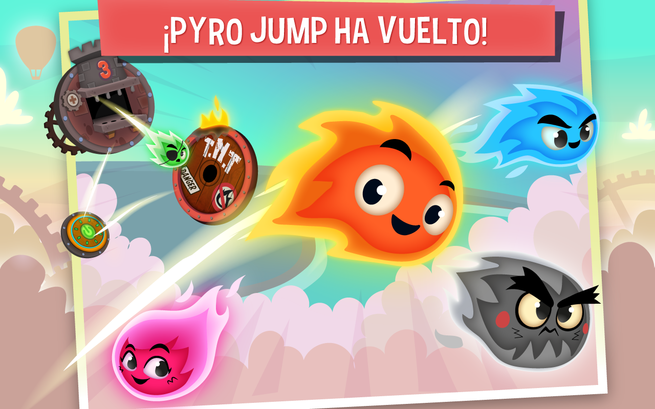 Pyro Jump Rescue- screenshot