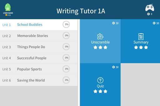 WritingTutor1A 5.0.1 screenshots 3
