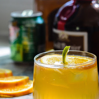Jack-O'-Lantern Cocktail.