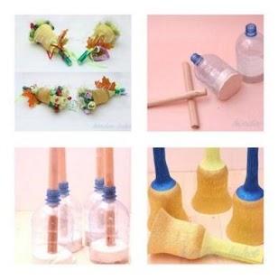 DIY plastová láhev - náhled