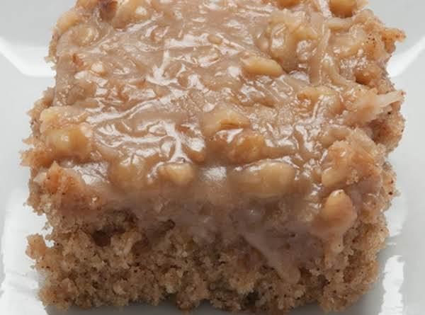 Grandma's Oatmeal Cake Recipe