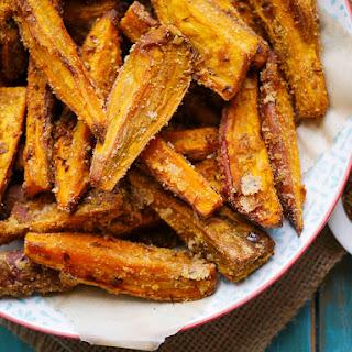 Cumin Seed + Coconut Sweet Potato Wedges