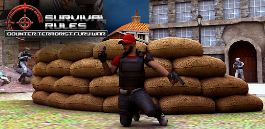 Survival Rules Counter Terrorist Fury War APK