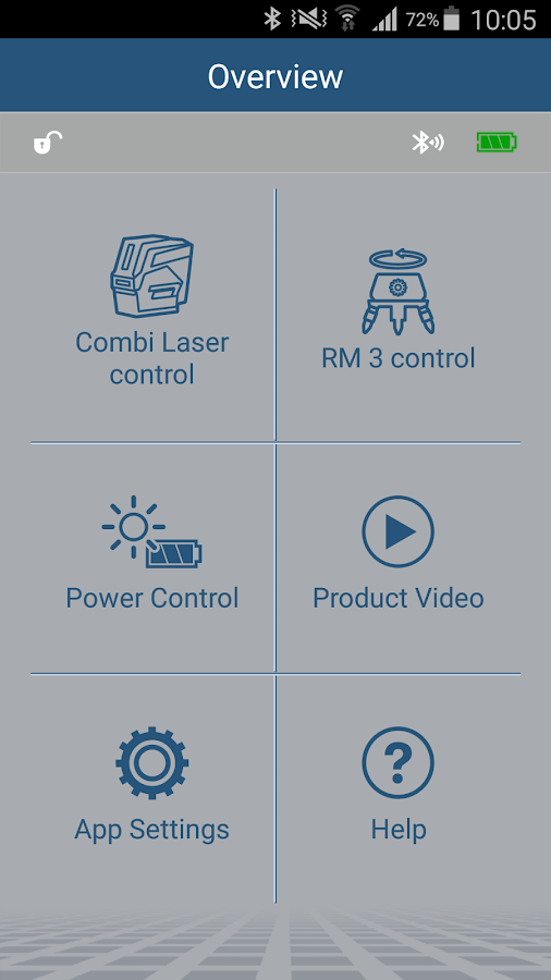 Bosch Levelling Remote- screenshot