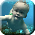 Baby Floats Live Wallpaper icon