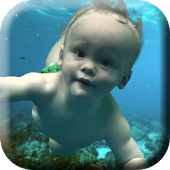 Baby Floats Live Wallpaper