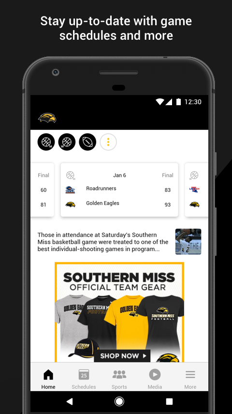 Southern Miss Gameday- screenshot