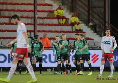 KV Kortrijk behoudt een waterkans op play-off 1 na zege tegen Cercle Brugge