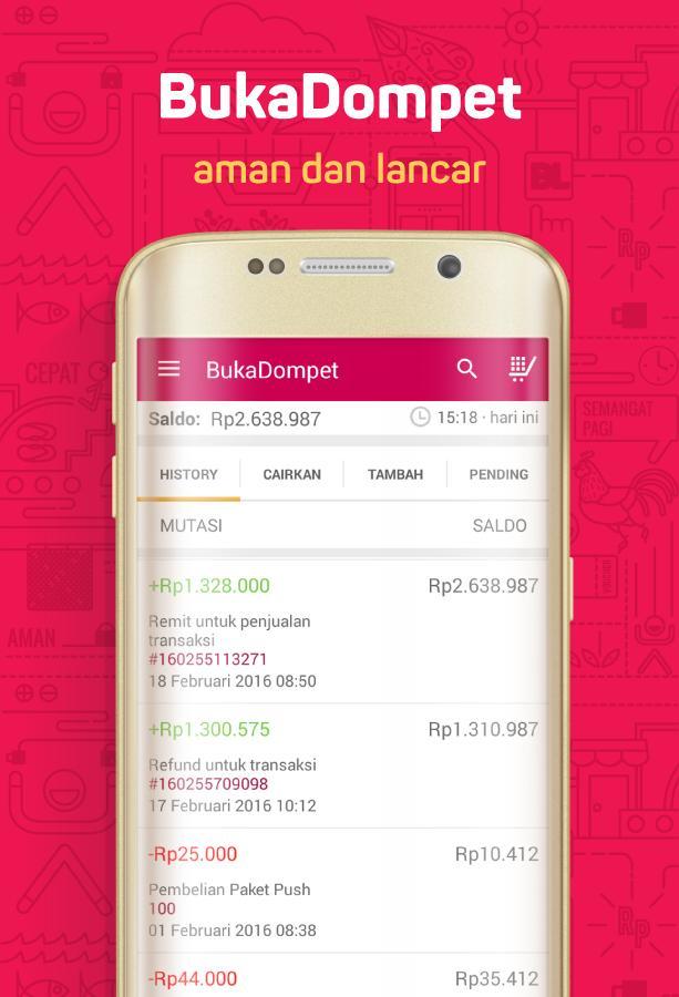 Screenshots of Bukalapak - Jual Beli Online for iPhone