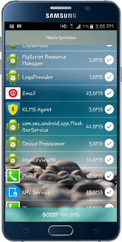 Mobile Optimizer PRO- screenshot
