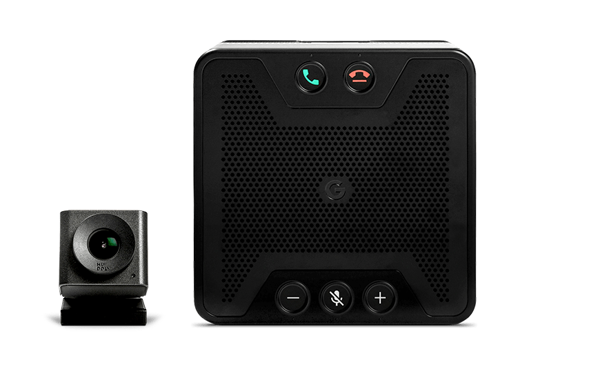 Meet-hardware: 4K-camera en speakermicrofoon