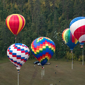 Stratobowl by Angelica Less - Transportation Other ( hot air balloon, colorful, south dakota, take off, balloons )