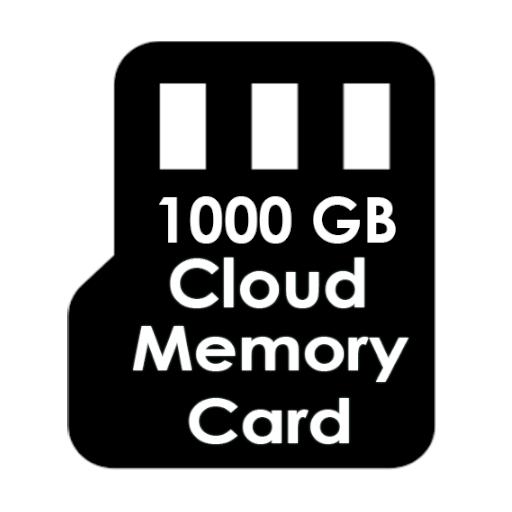 Baixar 1000 GB Cloud Memory Card para Android